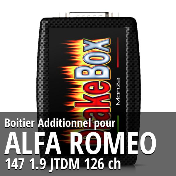 Boitier Additionnel Alfa Romeo 147 1.9 JTDM 126 ch