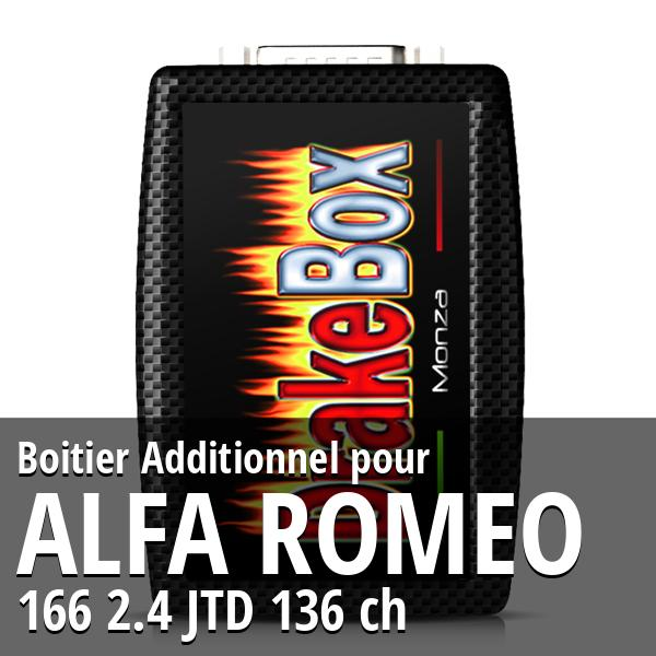 Boitier Additionnel Alfa Romeo 166 2.4 JTD 136 ch