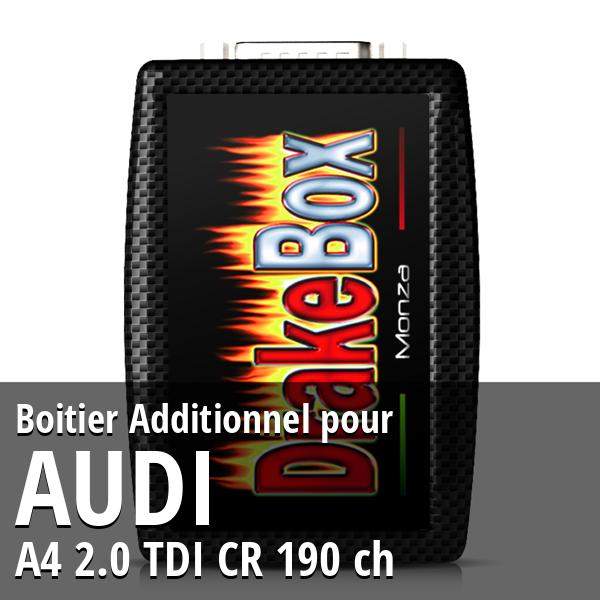 Boitier Additionnel Audi A4 2.0 TDI CR 190 ch