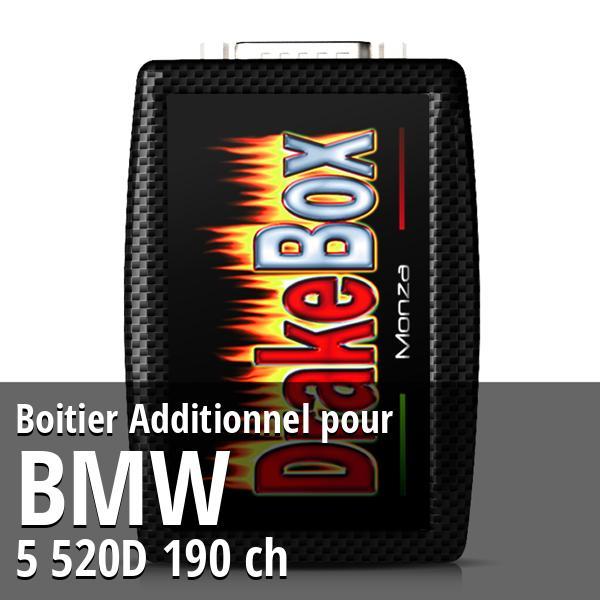 Boitier Additionnel Bmw 5 520D 190 ch
