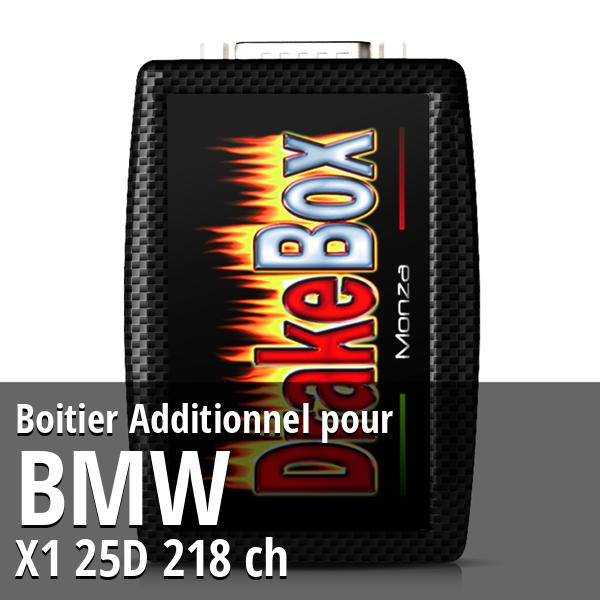 Boitier Additionnel Bmw X1 25D 218 ch
