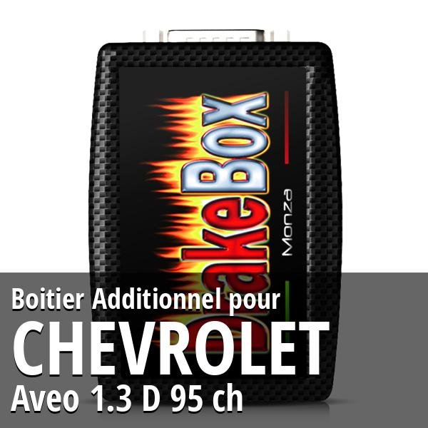 Boitier Additionnel Chevrolet Aveo 1.3 D 95 ch