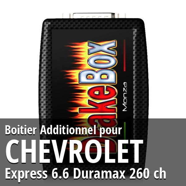 Boitier Additionnel Chevrolet Express 6.6 Duramax 260 ch