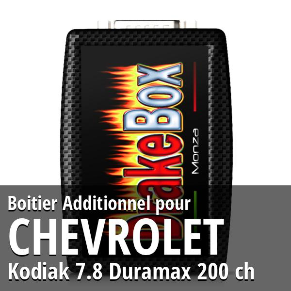 Boitier Additionnel Chevrolet Kodiak 7.8 Duramax 200 ch