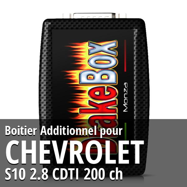 Boitier Additionnel Chevrolet S10 2.8 CDTI 200 ch