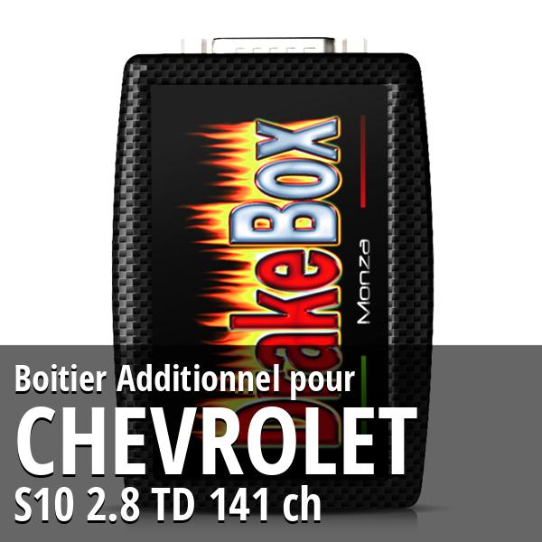 Boitier Additionnel Chevrolet S10 2.8 TD 141 ch