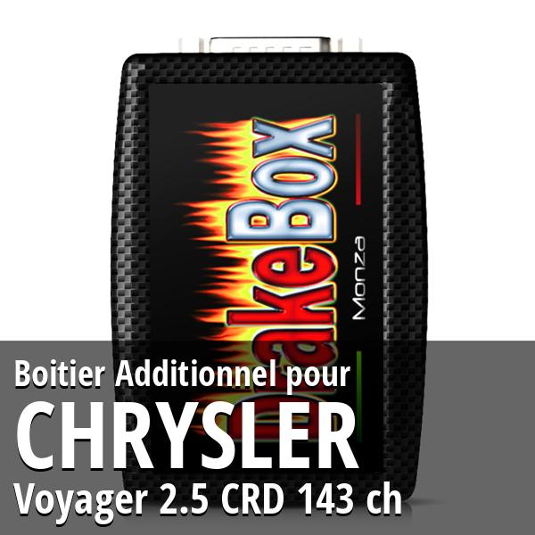 Boitier Additionnel Chrysler Voyager 2.5 CRD 143 ch