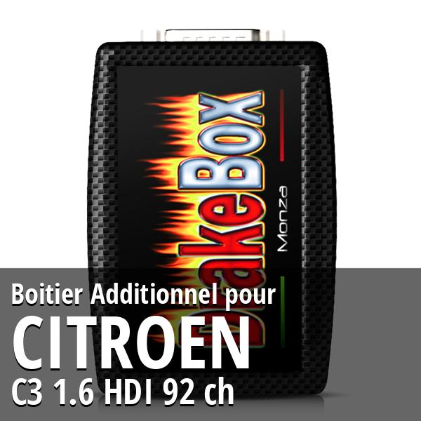 Boitier Additionnel Citroen C3 1.6 HDI 92 ch