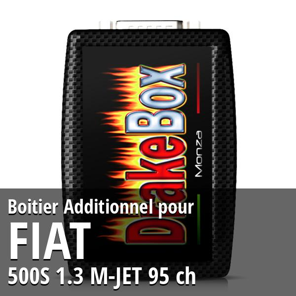 Boitier Additionnel Fiat 500S 1.3 M-JET 95 ch