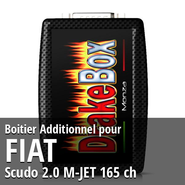 Boitier Additionnel Fiat Scudo 2.0 M-JET 165 ch
