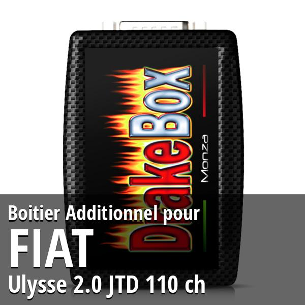 Boitier Additionnel Fiat Ulysse 2.0 JTD 110 ch