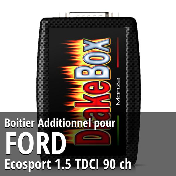 Boitier Additionnel Ford Ecosport 1.5 TDCI 90 ch