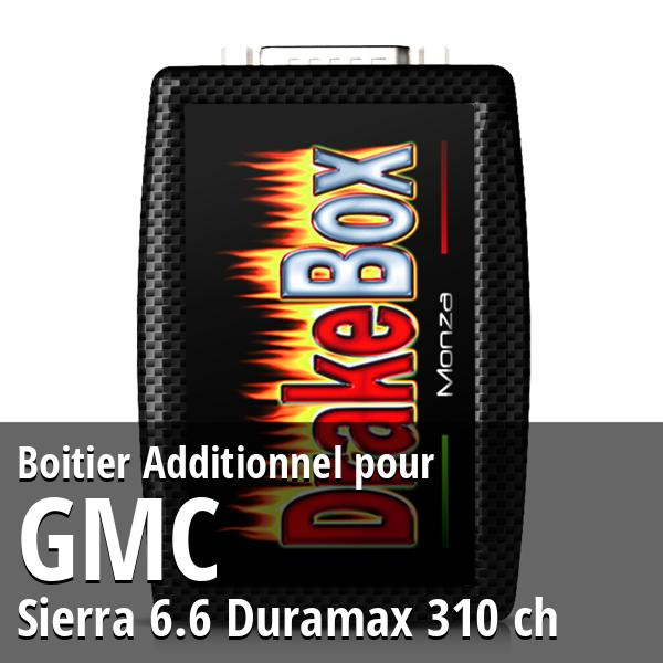 Boitier Additionnel GMC Sierra 6.6 Duramax 310 ch