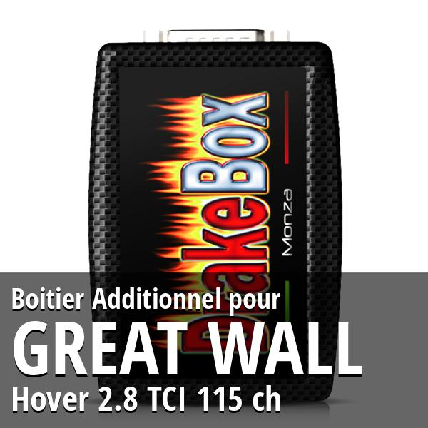 Boitier Additionnel Great Wall Hover 2.8 TCI 115 ch