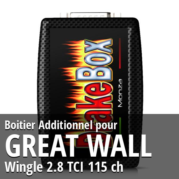 Boitier Additionnel Great Wall Wingle 2.8 TCI 115 ch