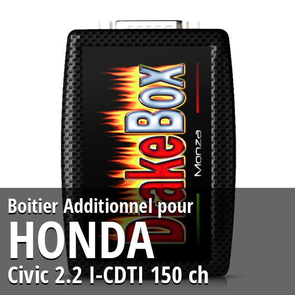 Boitier Additionnel Honda Civic 2.2 I-CDTI 150 ch