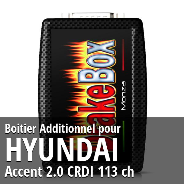 Boitier Additionnel Hyundai Accent 2.0 CRDI 113 ch