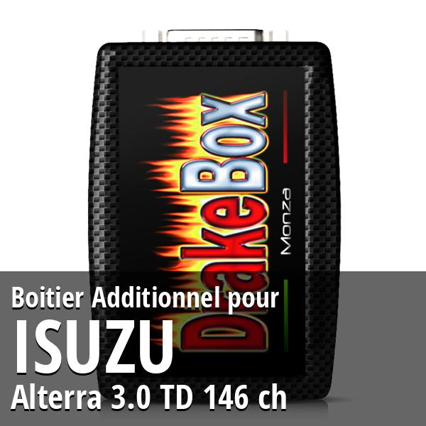 Boitier Additionnel Isuzu Alterra 3.0 TD 146 ch