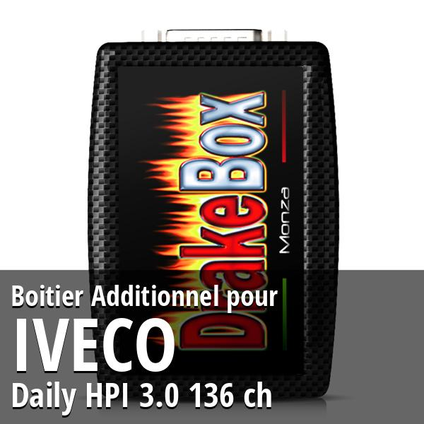Boitier Additionnel Iveco Daily HPI 3.0 136 ch