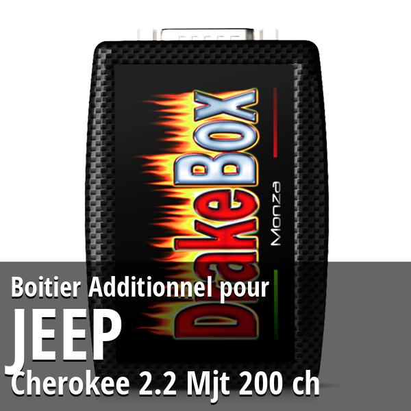 Boitier Additionnel Jeep Cherokee 2.2 Mjt 200 ch