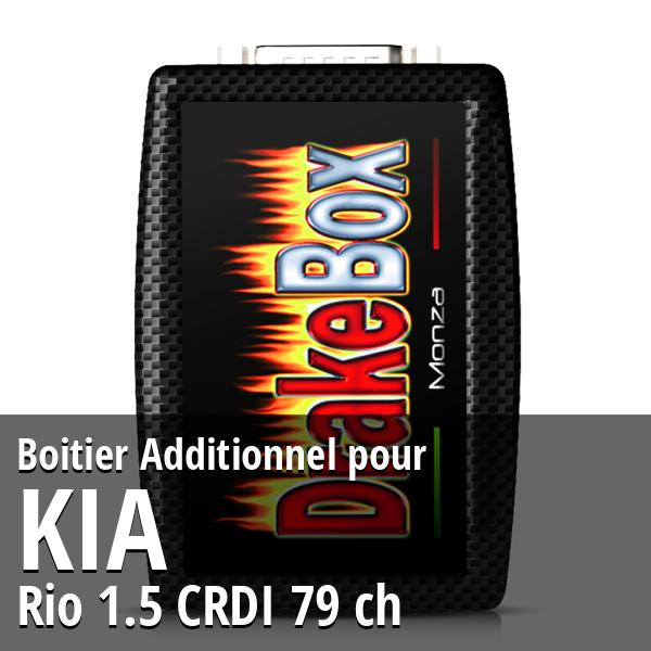 Boitier Additionnel Kia Rio 1.5 CRDI 79 ch