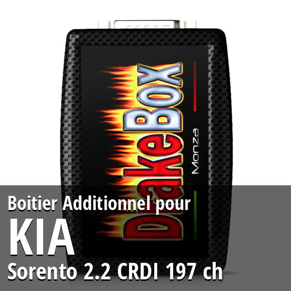 Boitier Additionnel Kia Sorento 2.2 CRDI 197 ch