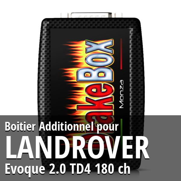 Boitier Additionnel Landrover Evoque 2.0 TD4 180 ch