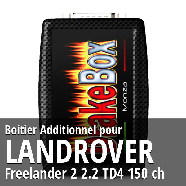 Boitier Additionnel Landrover Freelander 2 2.2 TD4 150 ch