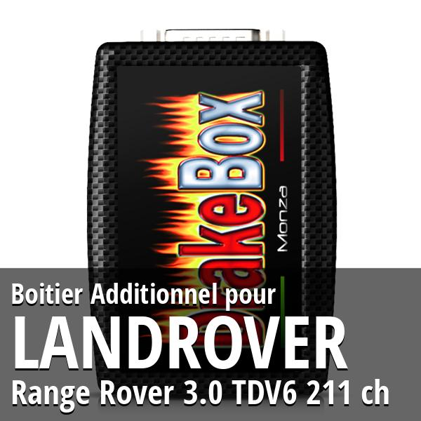 Boitier Additionnel Landrover Range Rover 3.0 TDV6 211 ch