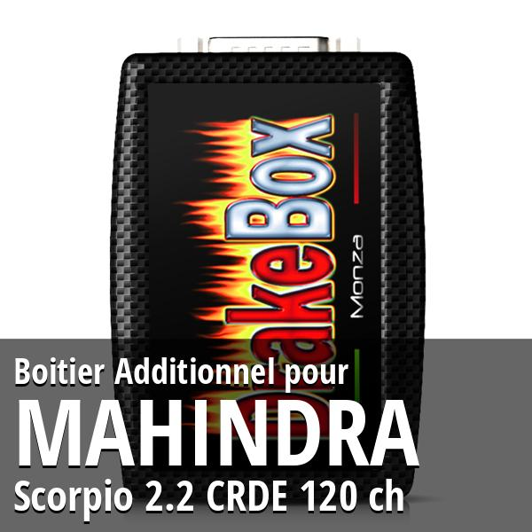 Boitier Additionnel Mahindra Scorpio 2.2 CRDE 120 ch