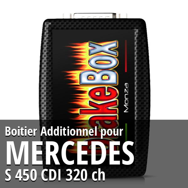 Boitier Additionnel Mercedes S 450 CDI 320 ch