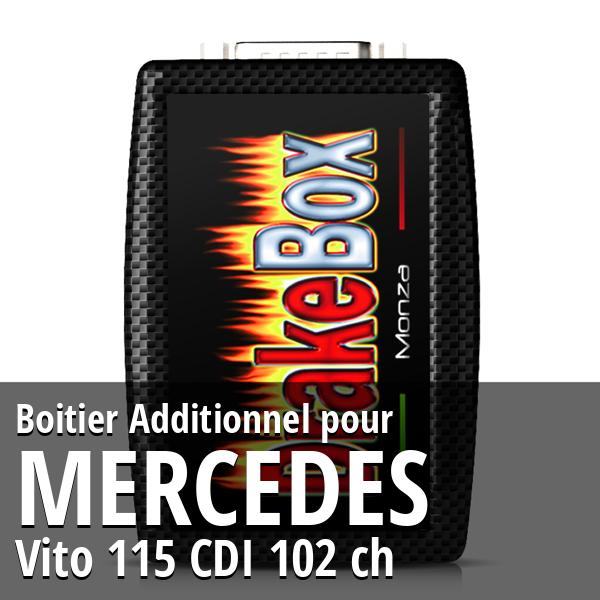 Boitier Additionnel Mercedes Vito 115 CDI 102 ch