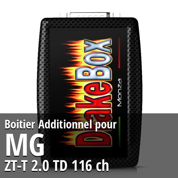 Boitier Additionnel Mg ZT-T 2.0 TD 116 ch
