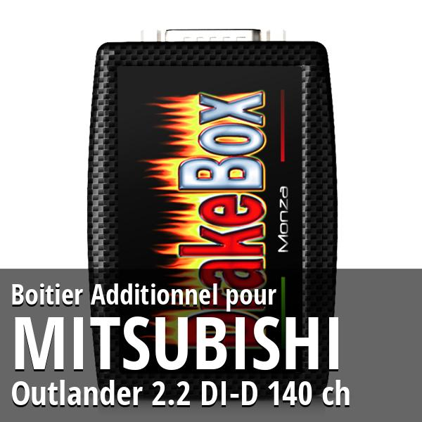 Boitier Additionnel Mitsubishi Outlander 2.2 DI-D 140 ch