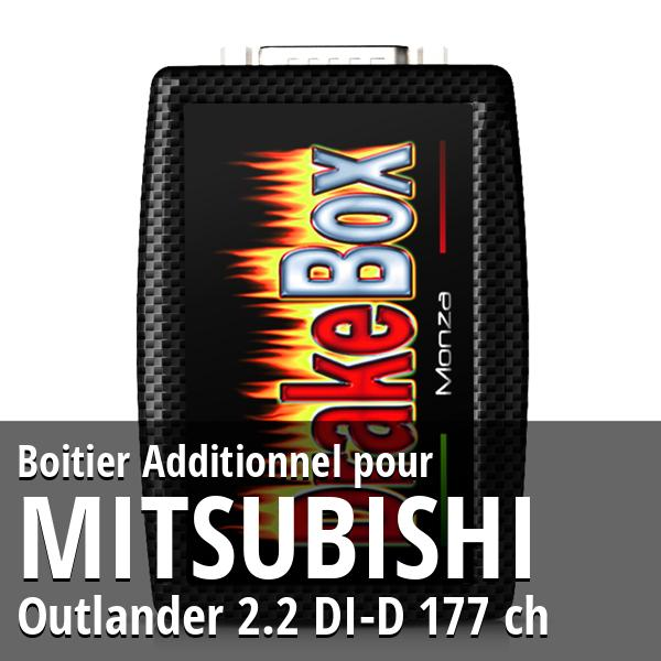 Boitier Additionnel Mitsubishi Outlander 2.2 DI-D 177 ch