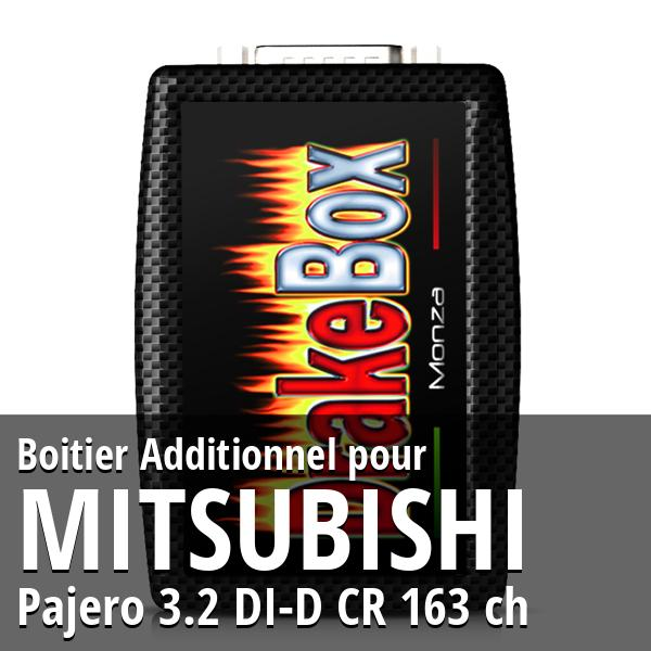 Boitier Additionnel Mitsubishi Pajero 3.2 DI-D CR 163 ch