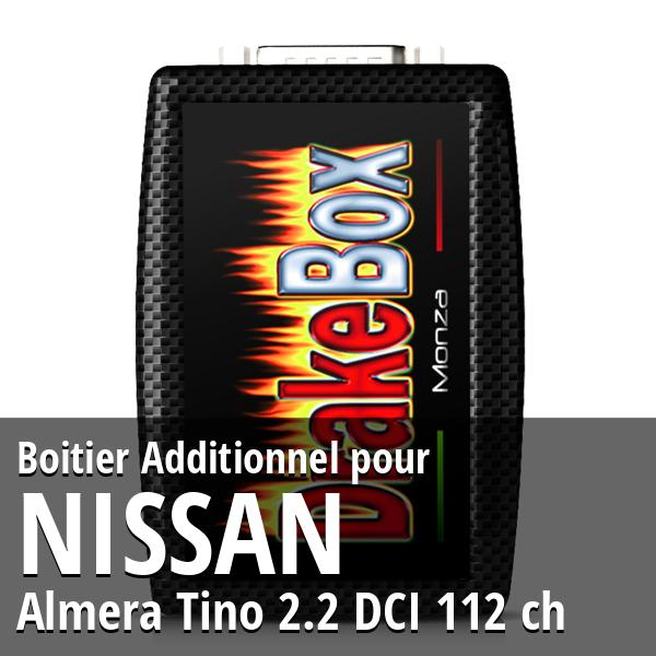 Boitier Additionnel Nissan Almera Tino 2.2 DCI 112 ch