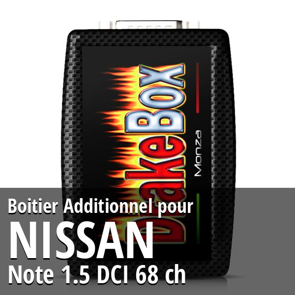 Boitier Additionnel Nissan Note 1.5 DCI 68 ch