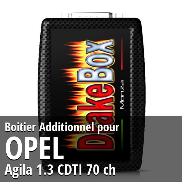 Boitier Additionnel Opel Agila 1.3 CDTI 70 ch