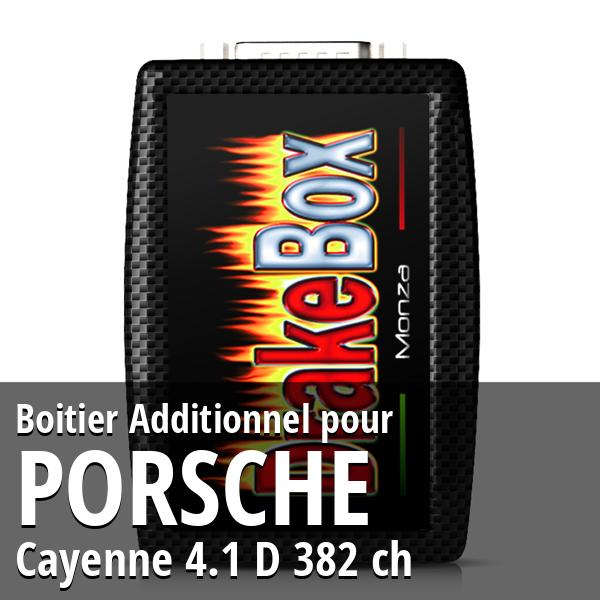 Boitier Additionnel Porsche Cayenne 4.1 D 382 ch