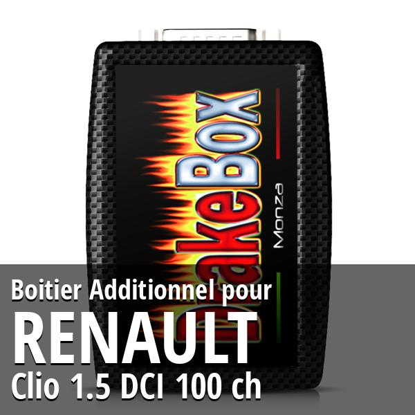 Boitier Additionnel Renault Clio 1.5 DCI 100 ch