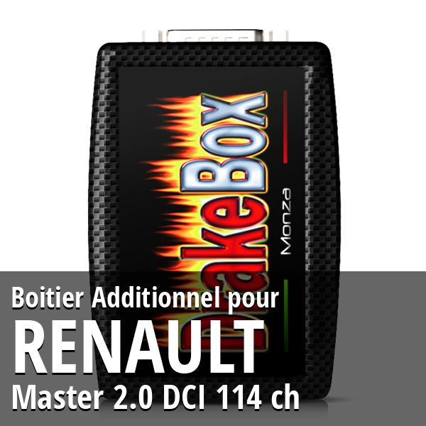 Boitier Additionnel Renault Master 2.0 DCI 114 ch