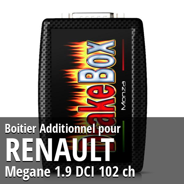 Boitier Additionnel Renault Megane 1.9 DCI 102 ch
