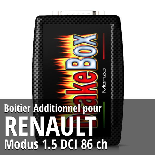 Boitier Additionnel Renault Modus 1.5 DCI 86 ch