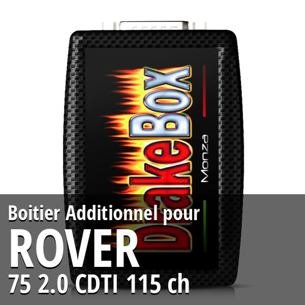 Boitier Additionnel Rover 75 2.0 CDTI 115 ch