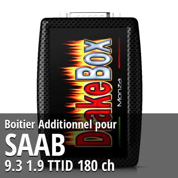 Boitier Additionnel Saab 9.3 1.9 TTID 180 ch