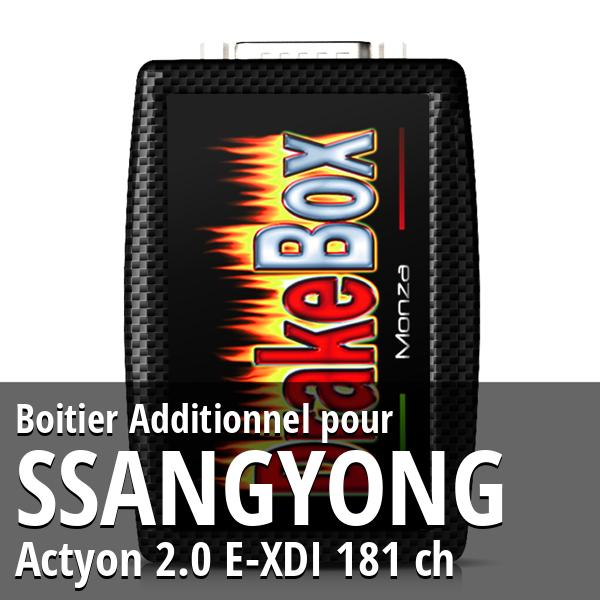 Boitier Additionnel Ssangyong Actyon 2.0 E-XDI 181 ch