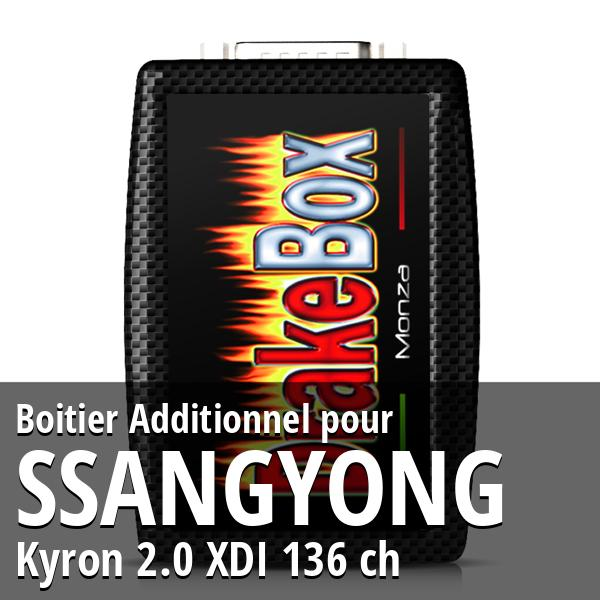 Boitier Additionnel Ssangyong Kyron 2.0 XDI 136 ch