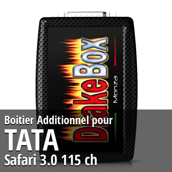 Boitier Additionnel Tata Safari 3.0 115 ch