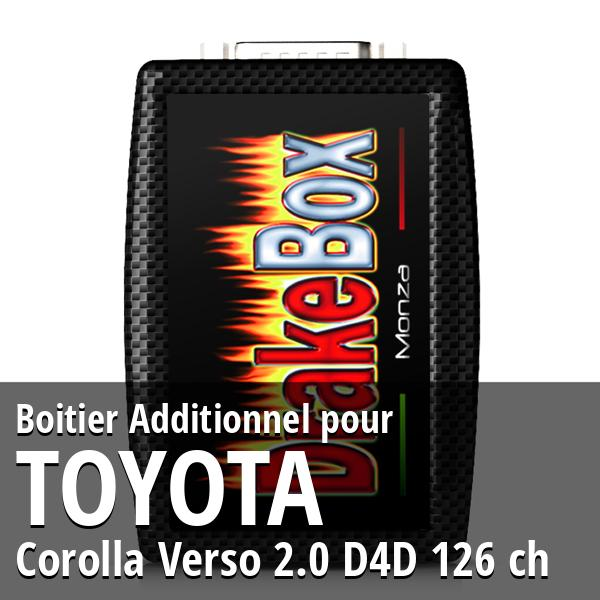 Boitier Additionnel Toyota Corolla Verso 2.0 D4D 126 ch
